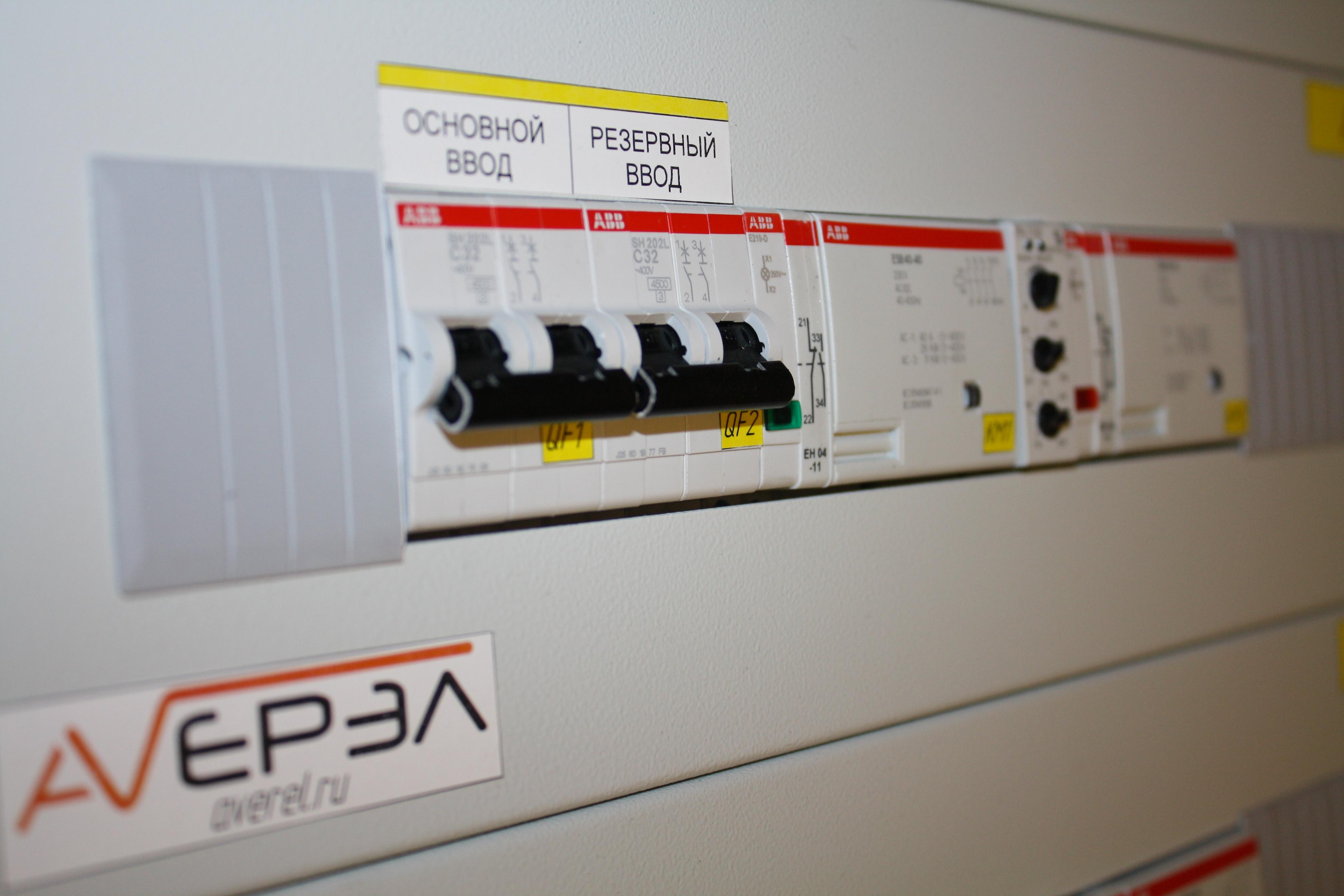 Устройство АВР 19 с комплектацией ABB