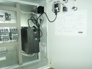 Шкафы управления насосами с частотным преобразователем