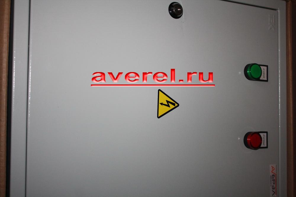 фото щита АВР 100А комплектация ИЭК 4