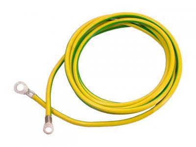 Провод заземления ПЗЯ-О-10.0-8-1м однопроволочный