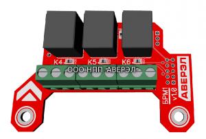 Доп. модуль сухих контактов БРМ1