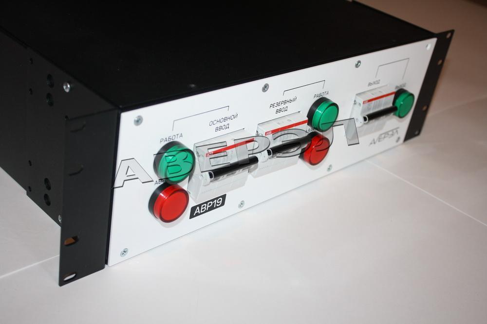 Устройство АВР19-3-25А NEW (2 ввода 380В 25А, ABB)
